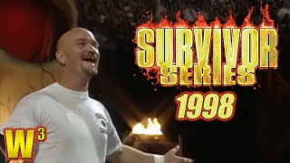 WWF Survivor Series 1998 Review | Wrestling With Wregret