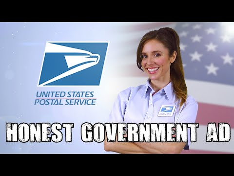 Honest USPS Ad   Mail-in voting