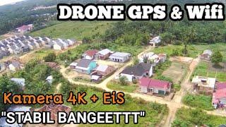 TES TERBANG DRONE MURAH KAMERA 4K DAN STABIL || MJX BUGS B20 EIS