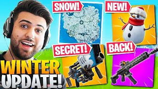 EVERYTHING Epic DIDN'T Tell You In The *HUGE* Winter Update! (Fortnite Battle Royale)