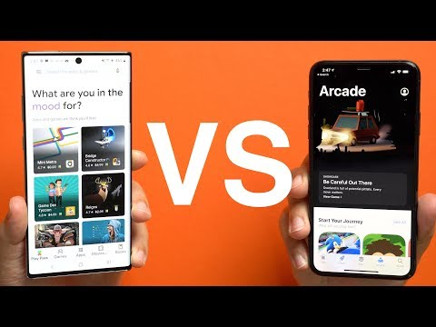 Apple Arcade vs. Google Play Pass