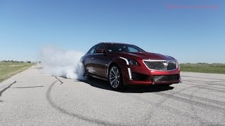 750 HP 2016 Cadillac CTS-V in Action   Kholo.pk