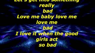 Dizzee Rascal feat. Will I Am - Something Really Bad (Lyric Video)