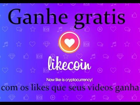 Ganhe criptomoedas gratis com seus videos do youtube