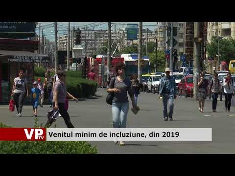 Venitul minim de incluziune, din 2019