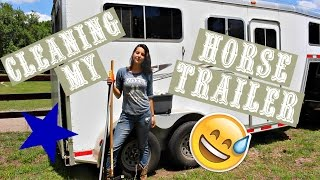 How To Deep Clean A Horse Trailer