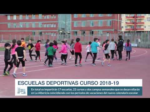Escuelas Deportivas 2018-19