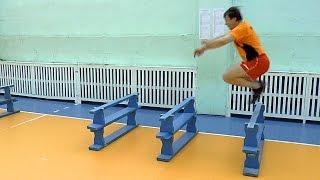 Как увеличить высоту прыжка. Обучение волейболу взрослых.