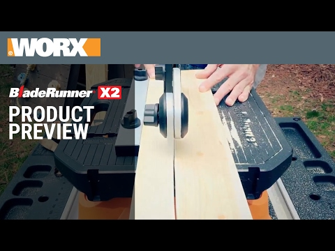 Bladerunner X2 Portable Tabletop Saw Wx572l Worx
