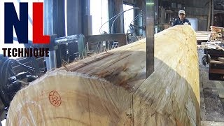Amazing Woodworking Machines Modern Technology - EXTREME Fast Wood Cutting Machine