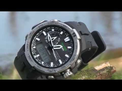 Outdoor Uhr - Casio Pro Trek PRW-6000-1ER - Monte Nuvolau - Outdoor watch -