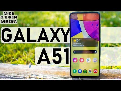 External Review Video klfO7Xth8dU for Samsung Galaxy A51 5G Smartphone