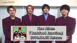 DISH///New Album『Junkfood Junction』メッセージ