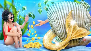 My Mom Is a Mermaid! I Was Adopted by a Millionaire Family