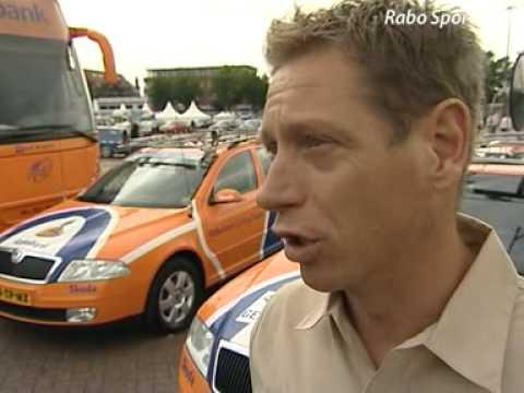 Volgauto bij Tour de France