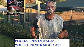 2016 El Rancho Futurity PCCHA Pie in face fundraiser for the Youth
