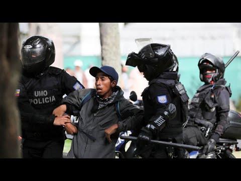Mision Internacional por los DDHH en Ecuador