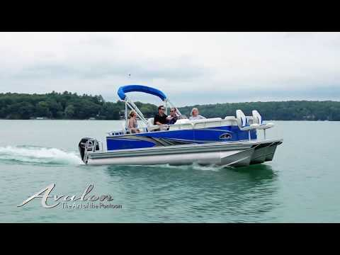 2019 Avalon Venture Rear Fish - 20' in Saint Helen, Michigan - Video 1