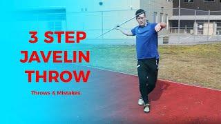 3 Step Javelin Throw