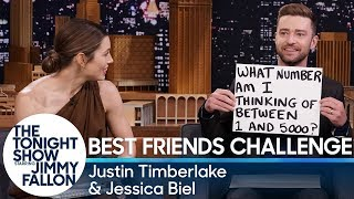 Gambar cover Best Friends Challenge with Justin Timberlake and Jessica Biel