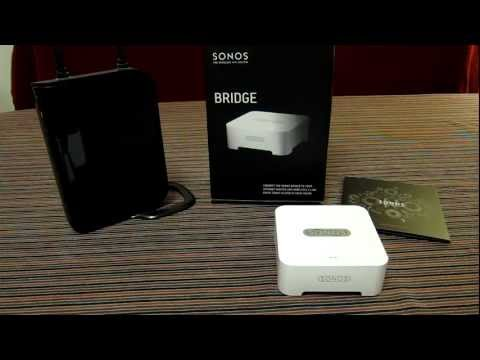Sonos Bridge – Hands on Review. Part of multi-room home setup
