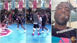 Chinese Freestyler Tries To Punk D Wade, Ends Up Humiliated By The Legend