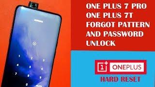 One Plus 7 Pro Pattern Unlock Hard Reset And FRP Unlock