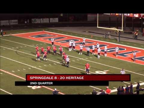Springdale vs Rogers Heritage Football