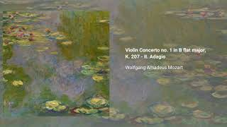Violin Concerto no. 1 in B flat major, K. 207