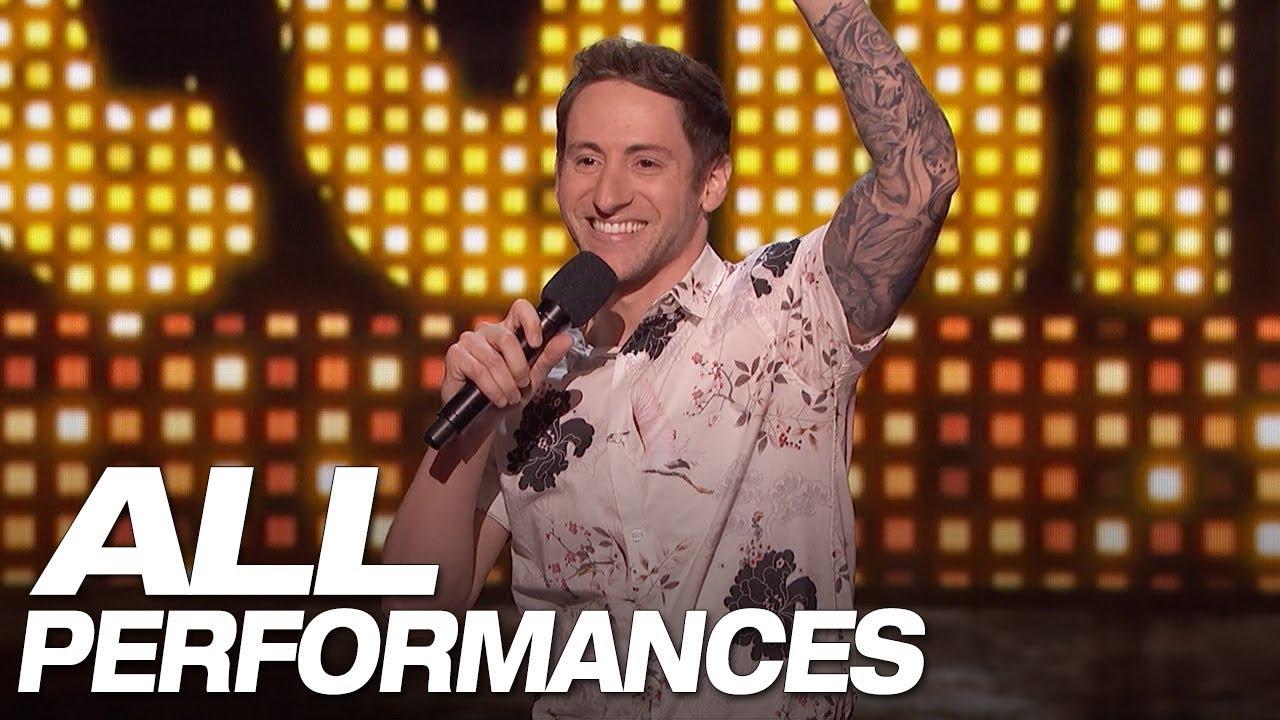 All Of Samuel J. Comroe's Full Performances On AGT - America's Got Talent 2018 thumbnail