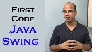 First Code in Java Swing GUI | Free Java Course