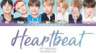 BTS (방탄소년단)   HEARTBEAT (BTS WORLD OST) 「Color Coded Lyrics_HanRomEng」