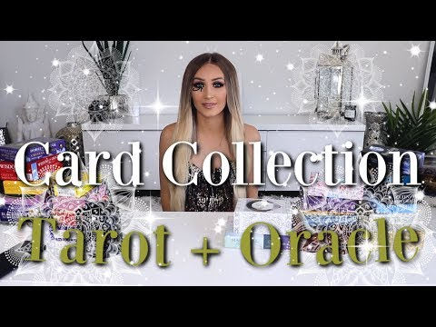 My Tarot + Oracle Card Collection + How I Set Up My Pick-A-Card Readings