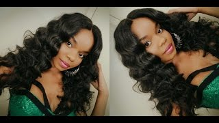 O M G! So Amazed! Vivica A. Fox Deep Swiss Antique Lace Front Wig