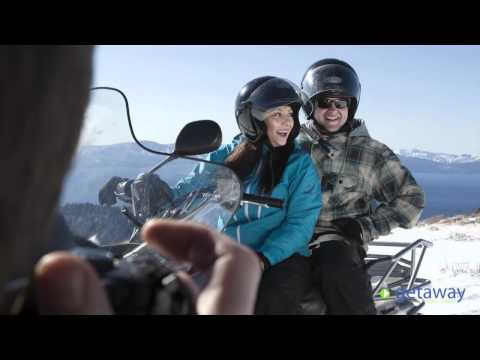 Snowmobiling at Zephyr Cove Resort