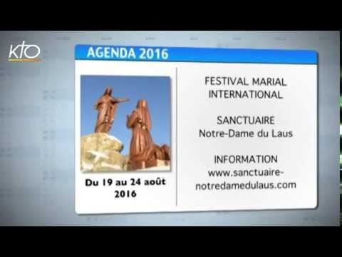 Agenda du 15 juillet 2016