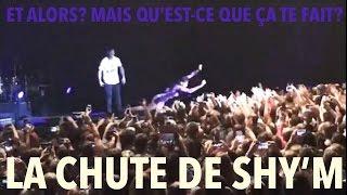 Quand Shy'm se jette dans le public... #Bercy