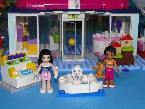 Vidéo LEGO Friends 41007 : L'animalerie d'Heartlake City