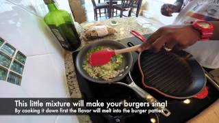 How to make a Super Garlic Cheese Burger - Video Youtube