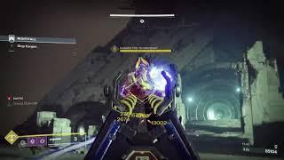 Destiny 1, Nightfall, Solo, Warlock Voidwalker, The Sunless Cell