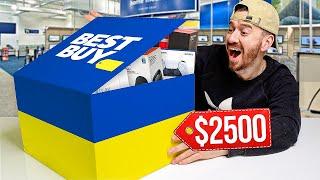 I Bought A $2,500 Best Buy Mystery Box!!