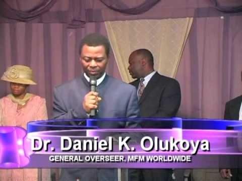 Dr D.K Olukoya -  Manna Water November 2015
