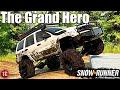 SnowRunner: WJ GRAND CHEROKEE CRAWLER! The Grand Hero