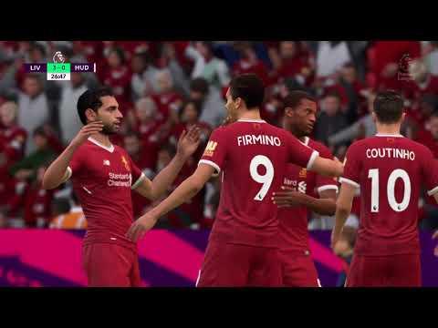 FIFA 18 Liverpool vs Huddersfield Town Gameplay Full Match HD 28.10.17