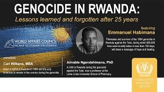 Genocide In Rwanda - Lessons learned and forgotten after 25 years