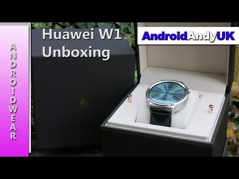 BLACK FRIDAY DEAL: Huawei W1 Androidwear Smartwatch Unboxing