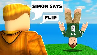 Roblox Simon Says Gets REALLY CONFUSING