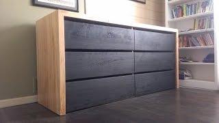 Modern Dresser Build (Timelapse)