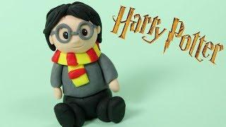 How To Make Fondant Harry Potter Cake Topper / DIY Harry Potter Figure
