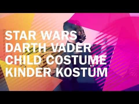 Starwars - Darth Vader Child Costume - Darth Vader Kinder Kostüm - Unboxing by Gogofett Kidsworld